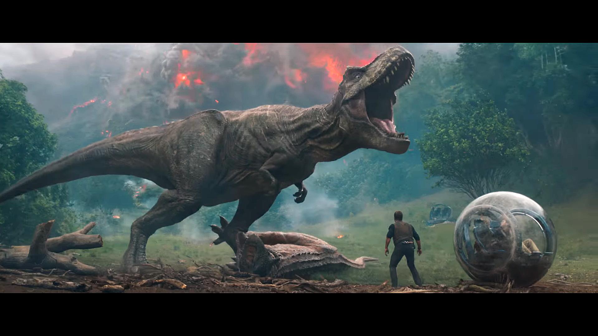 Jurassic World 2 Rexy Wallpaper 1920x1080 En 2019 La