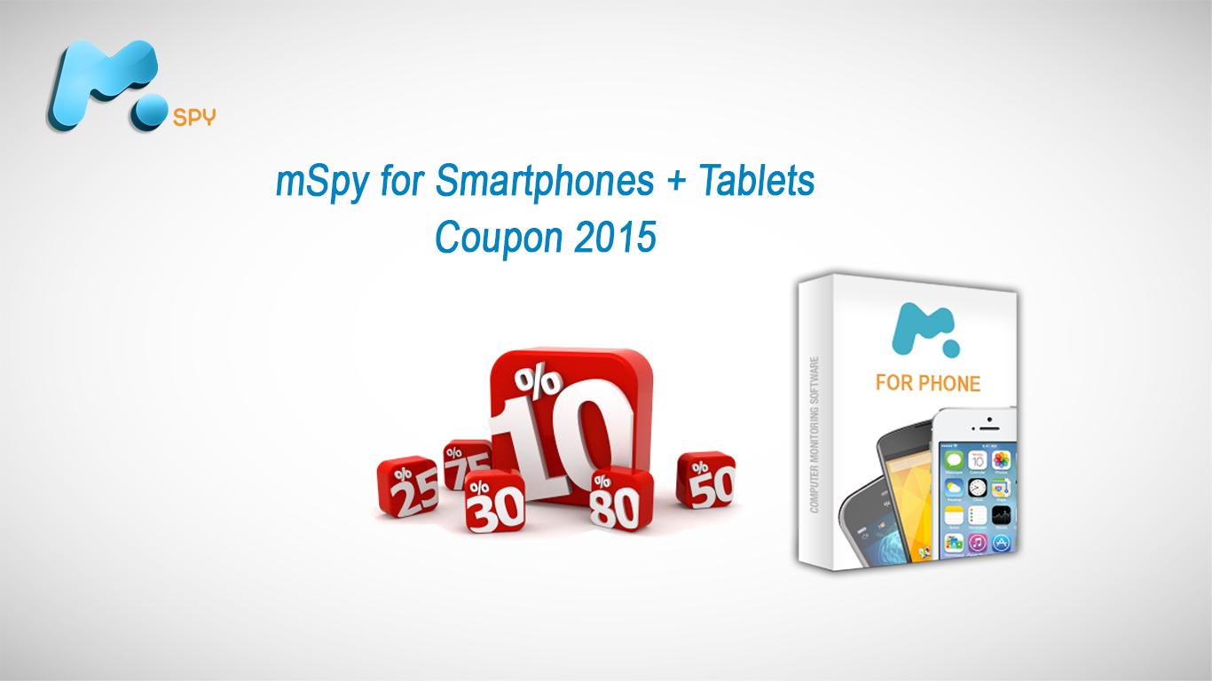 5% mSpy for smartphones & tablets – 3 months Premium Subscription coupon