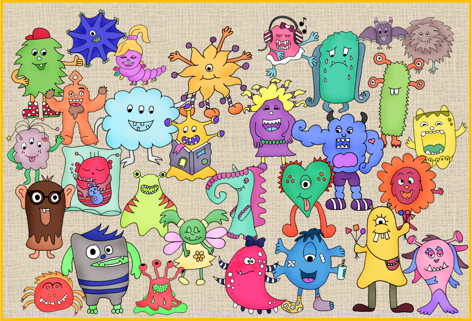 Monster Im Worksheet Crafter