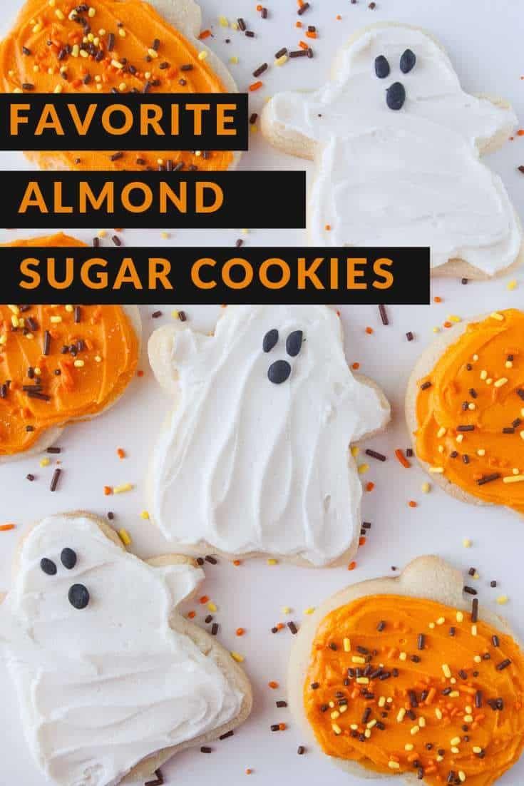 Favorite Almond Sugar Cookies