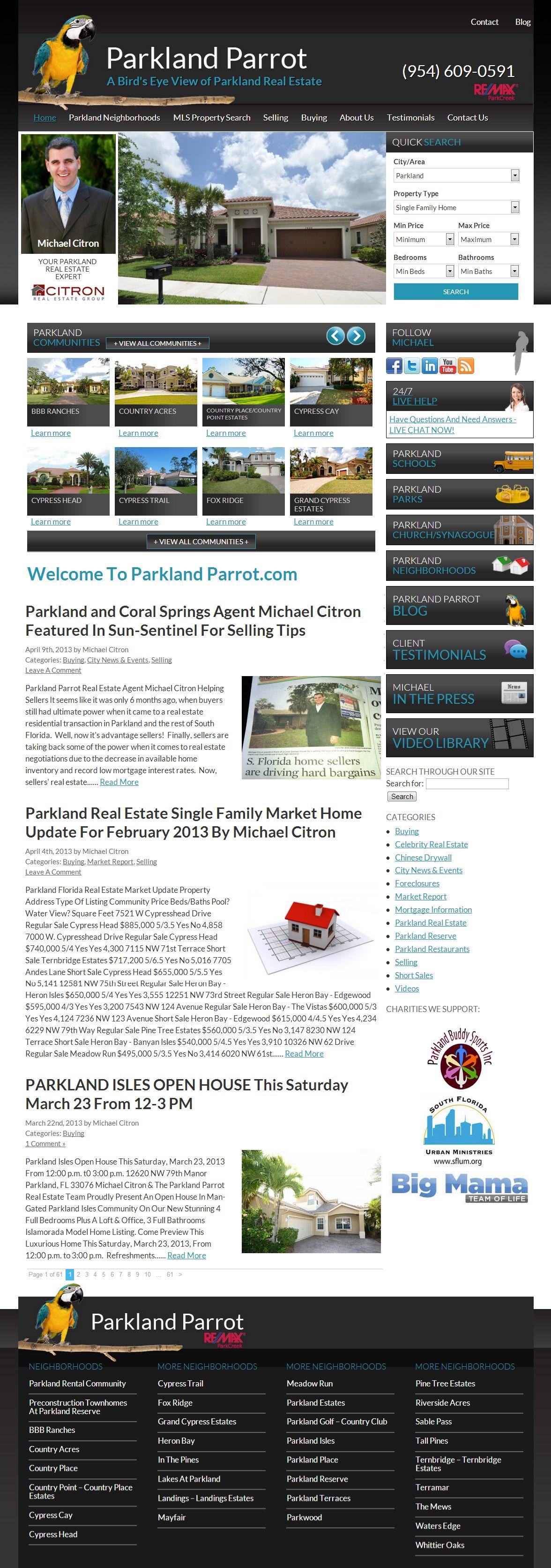 ParklandParrot.com