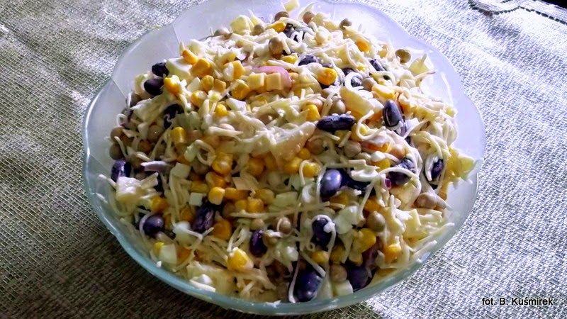 Bea U Ty Kitchen Salatka Z Selera Konserwowego Na Slodko Przepisy