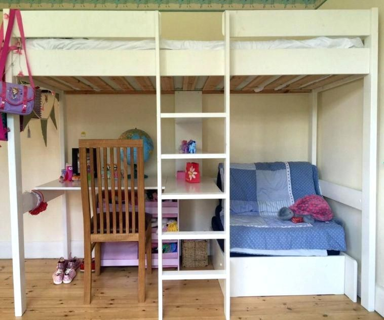 Loft Bed With Sofa Bed With Desk And Sofa Underneath Bunk Bed With Table Underneath And Stair Metal Bunk Bed Kids Loft Bunk Bed Loft Bed Plans Wooden Bunk Beds
