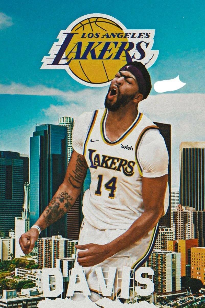 Pin by Tom Liu on Anthony Davis- LAL | Basketball players ...