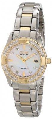 35fa9abd0e3 Relógio CITIZEN ECO-DRIVE Women s EW1824-57D Regent Two-Tone Diamond Watch   Relogio  Citizen