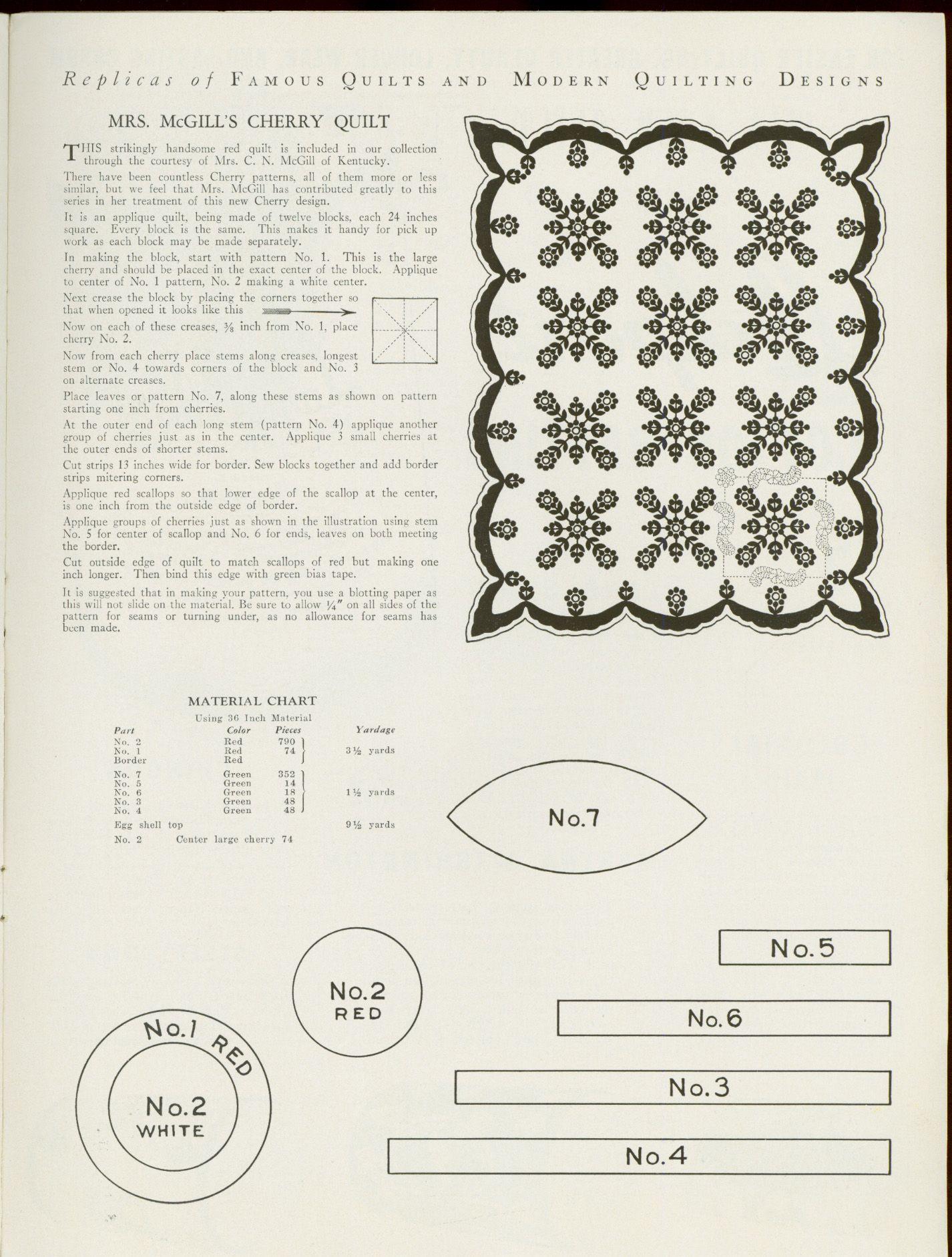 The Quilt Index   Quilt blocks and applique 6