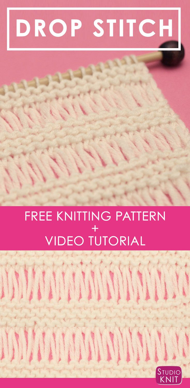 How to knit the drop stitch garter pattern stitch drop and studio how to knit the drop stitch garter pattern bankloansurffo Images