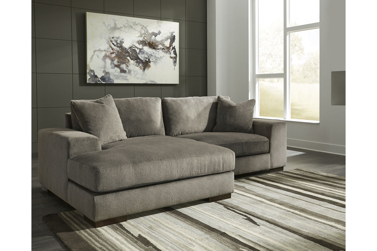 Manzani 2 piece sectional graphite