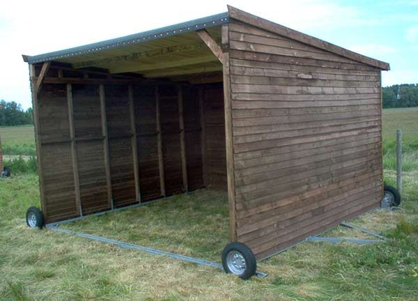 mobile field shelter devon
