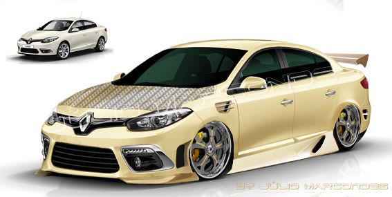 Renault Fluence Rs Tuning 2015 Autos