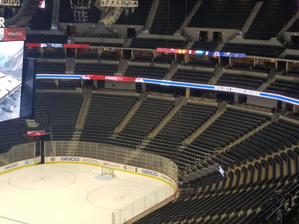 Pepsi Center Avalanche Seating Chart