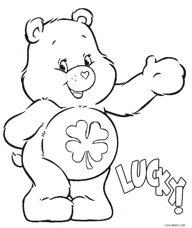 Care Bears Coloring Pages Printable Care Bears Coloring Pages For Kids Rainbow Bear Page Onlin Bear Coloring Pages Cartoon Coloring Pages Disney Coloring Pages