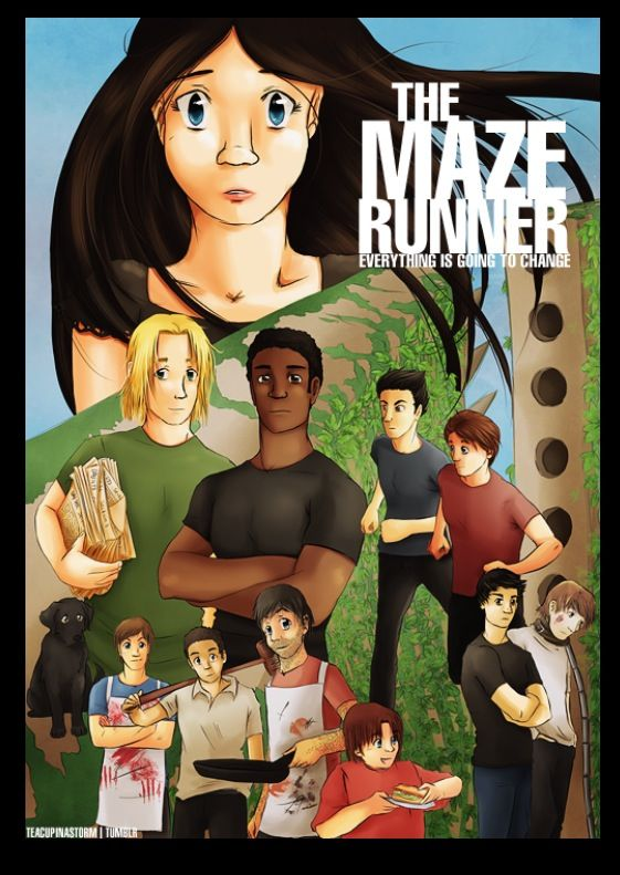 Awesome!! The maze runner !! Fan art ( to extreme ! )
