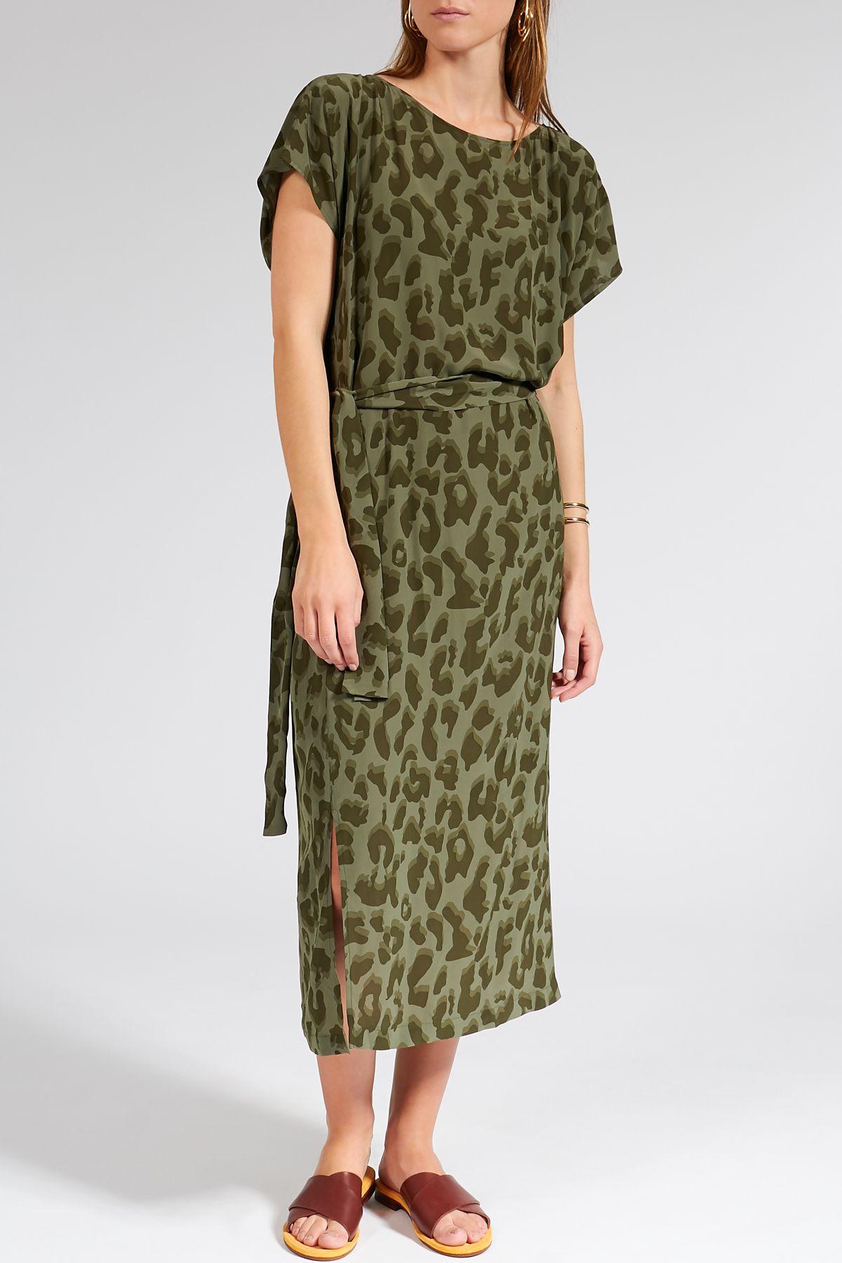 Midi-Kleid Odelia aus Viskose  Kleider, Outfit, Drykorn