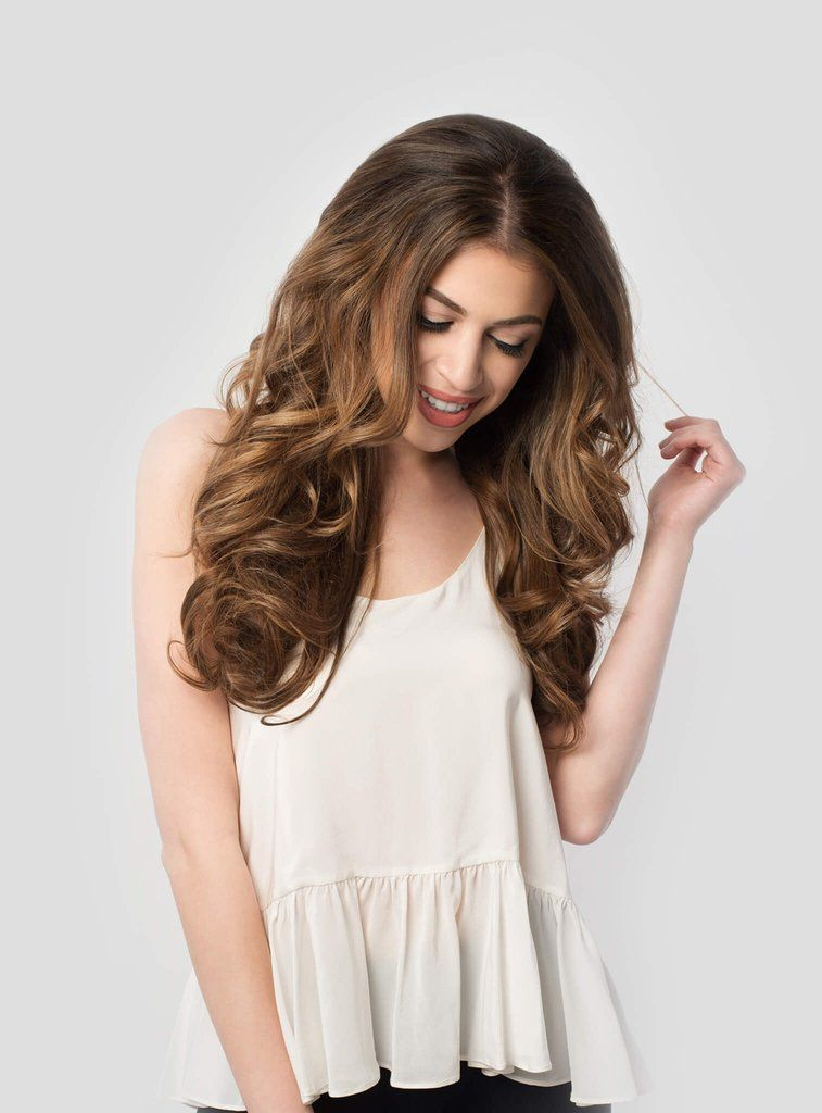 Chestnut Brown 6 20 220g Hair Extensions Extensions And