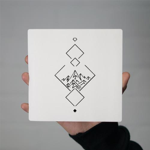 1ab6664d3 Arkenstone by Carsten Daub is a Geometric temporary tattoo from inkbox - 1