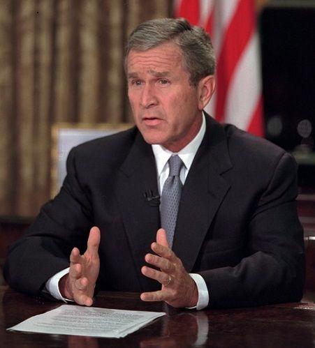 George W. Bush - Address to the Nation on 9-11-01 - The Rhetoric of ...
