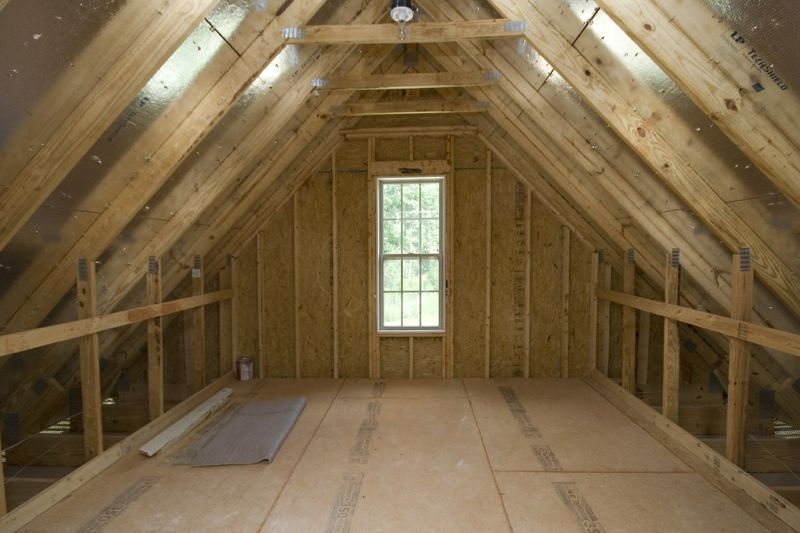 Camellia Floorplan Attic Storage Space Royal Oaks Homes