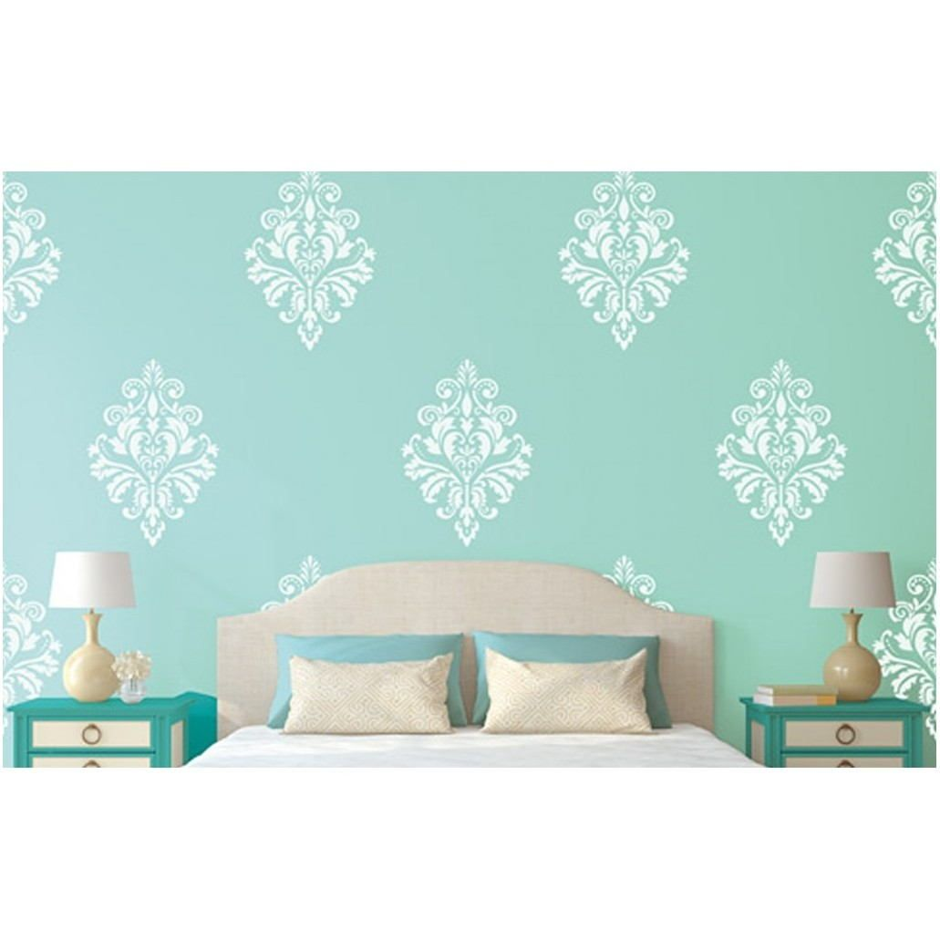 Asian Paints Stencils For Living Room Bedroom Wall Designs