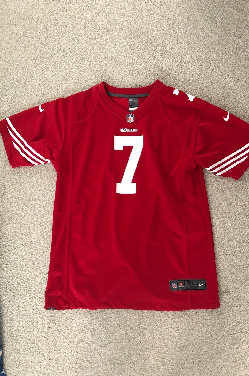 youth 49ers jersey