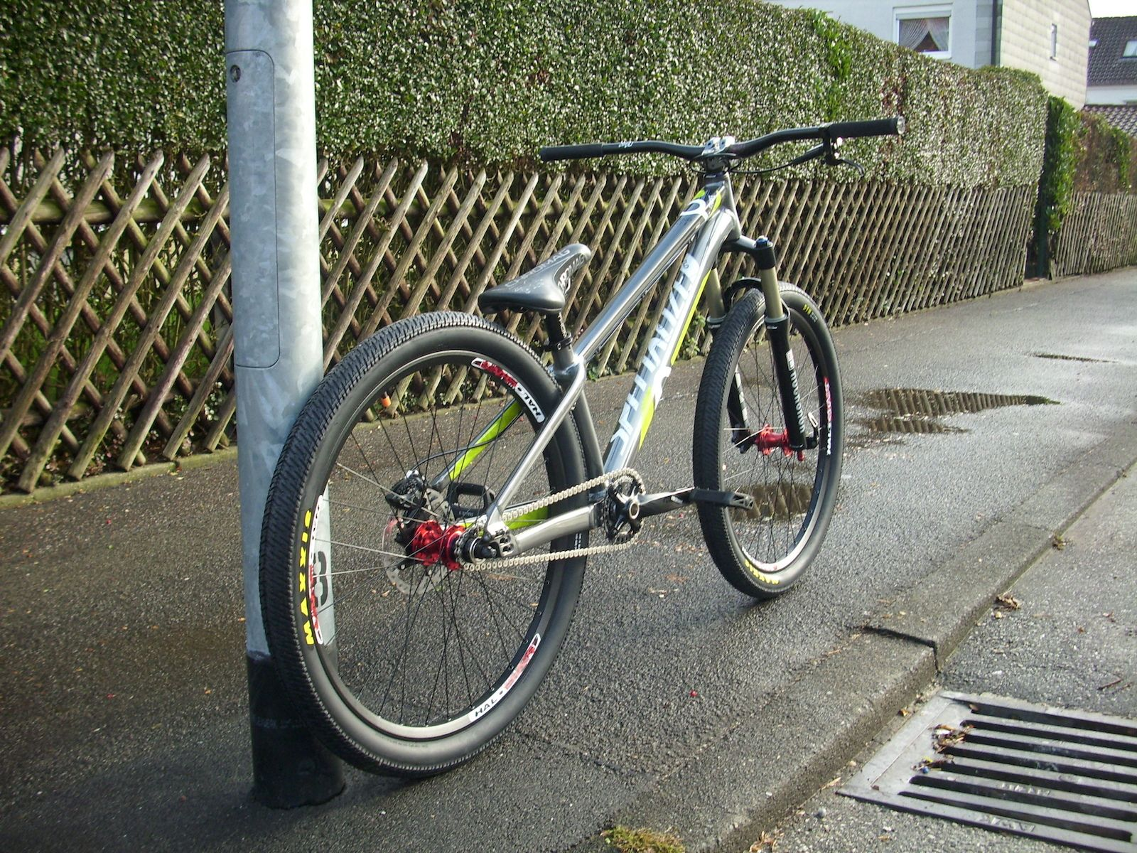Specialized p3 Frame,Rock Shox Argyle Rct 100mm,Halo Chaos Wheels ...