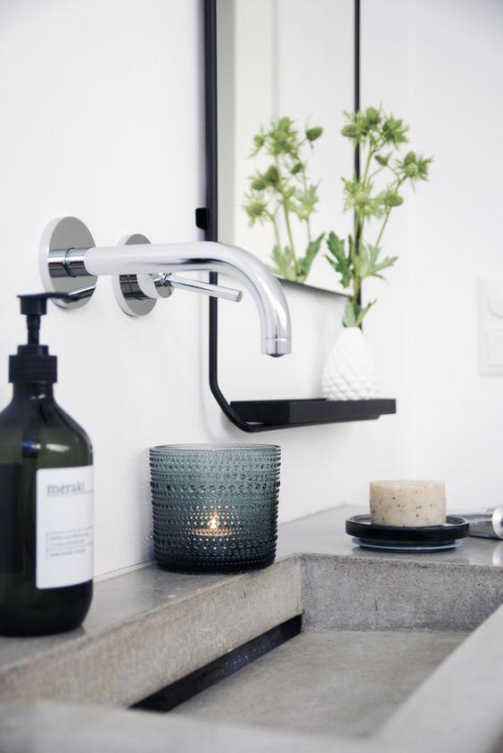 40x mooiste badkamer accessoires onder de 50 euro | Trough sink ...