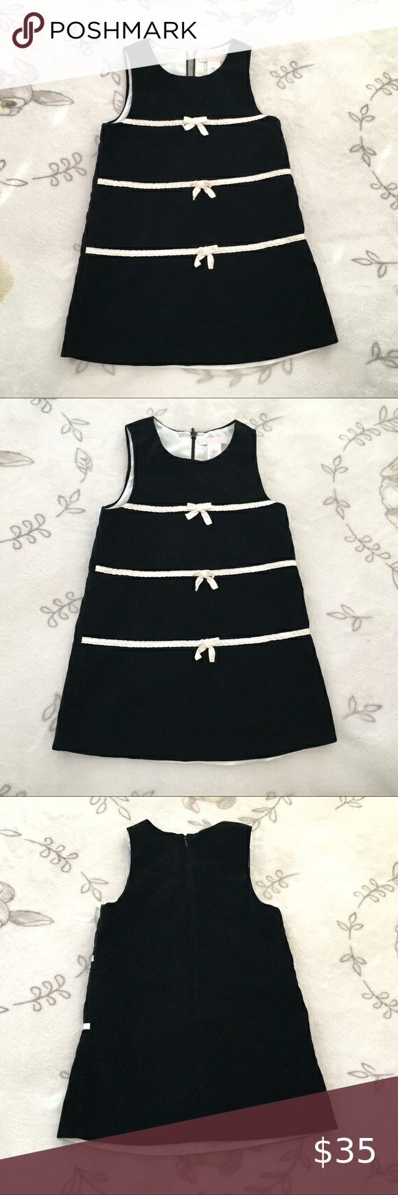 Toddler Girls Janie And Jack Black Dress 2t In 2021 2t Dress Janie And Jack Toddler Girl [ 1740 x 580 Pixel ]