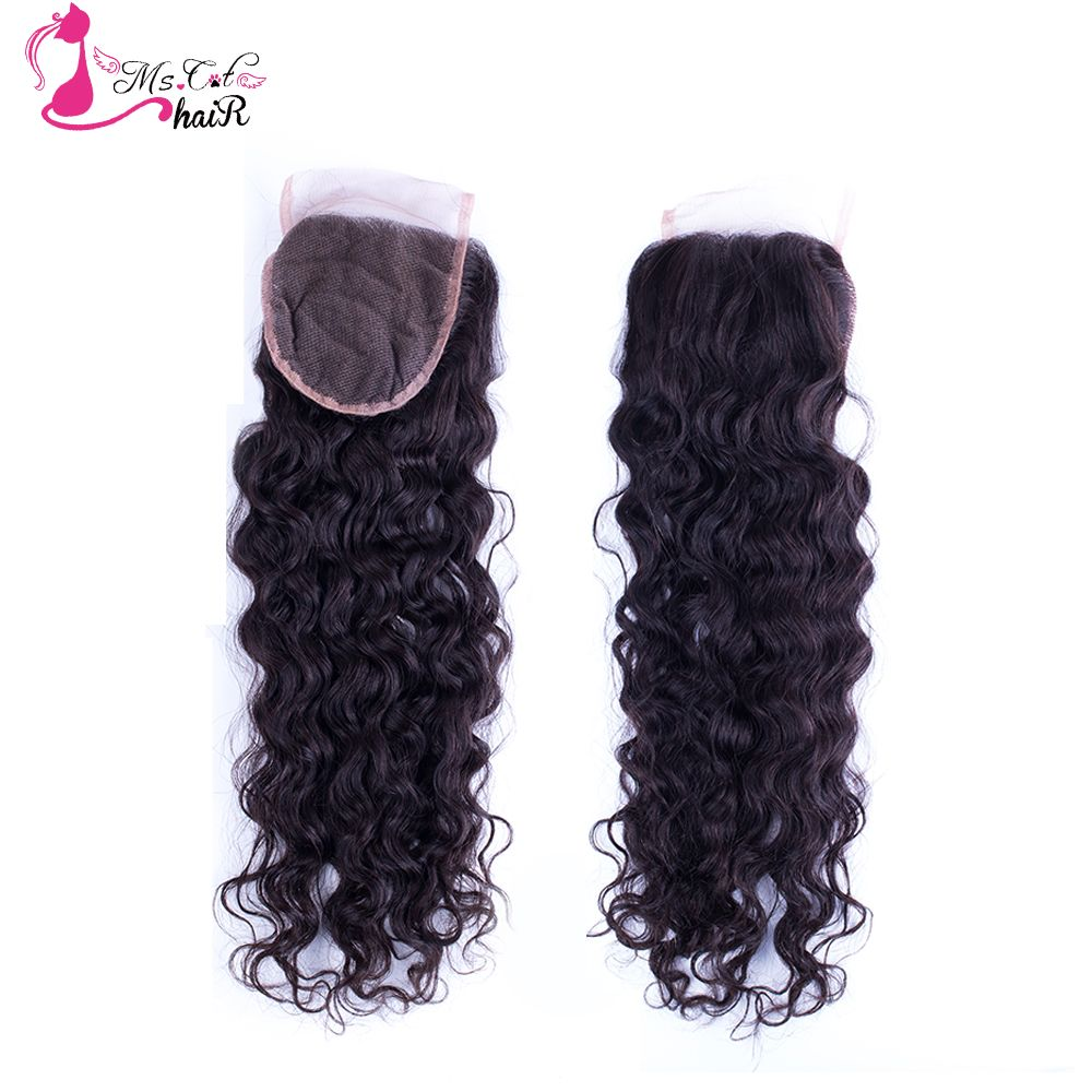 Where to buy hair closures - Cheap 6a Mongolian Curly Hair Lace Closure Free Part Virgin Human Closure Afro Curly Hair Closure
