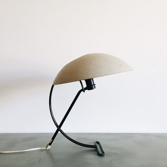 Vintage Louis Kalff For Philips Desk Lamp By Atifakuto On Etsy