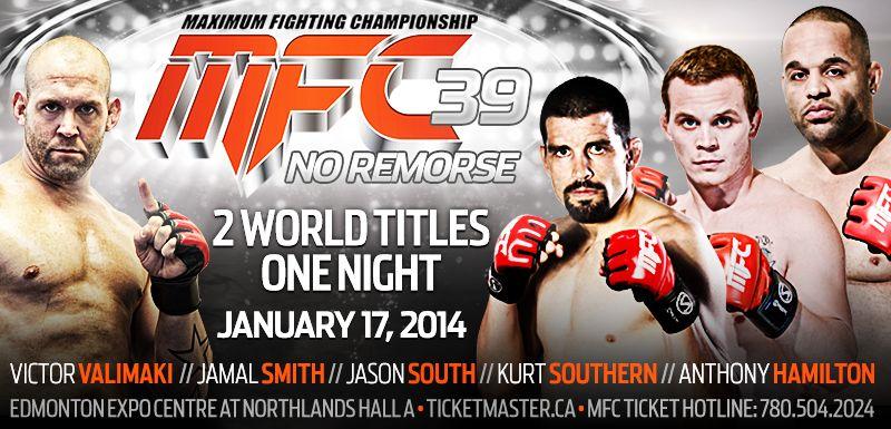 Mfc 39 Promo Design Mma Graphicdesign Fight Title Southern