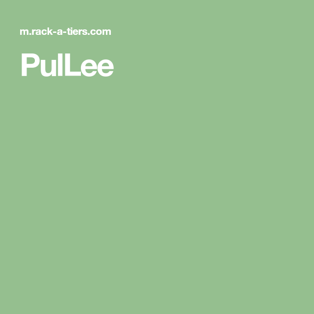 Pullee