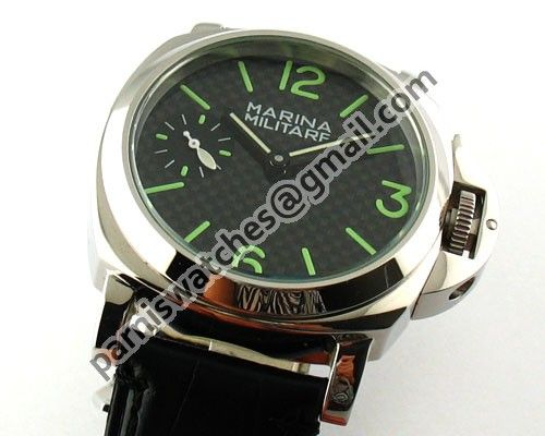 Marina Militare 44mm SS Stereoscopic hand winding - 44mm Marina Militare - Parnis watch station