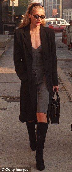 October 23, 1996 – Walking on Varick St.