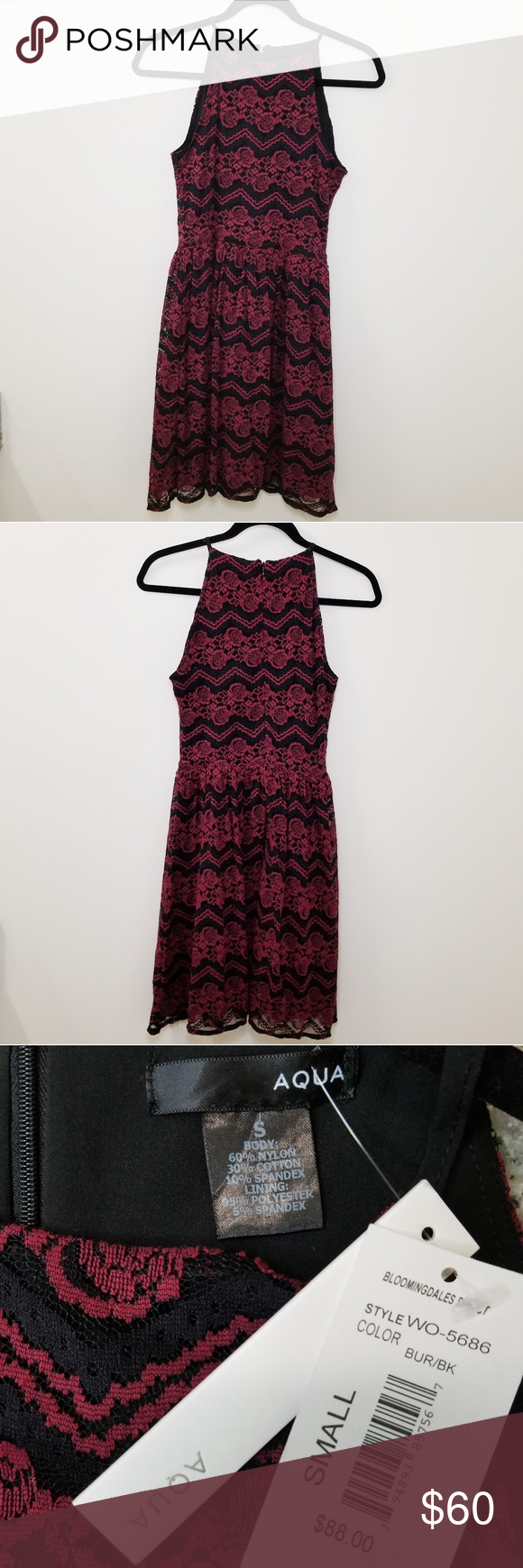 16+ Aqua black lace sleeveless dress ideas