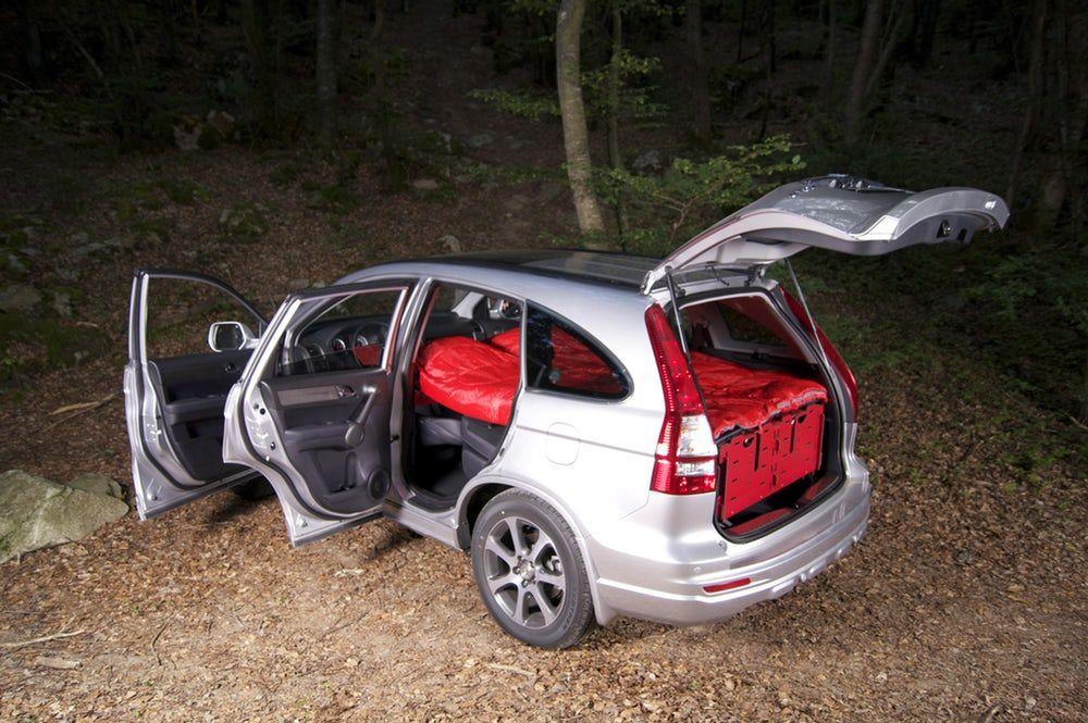 Swissroombox Car Camper Conversion Kit Gets Streamlined Honda Crv Car Camper Suv Camper