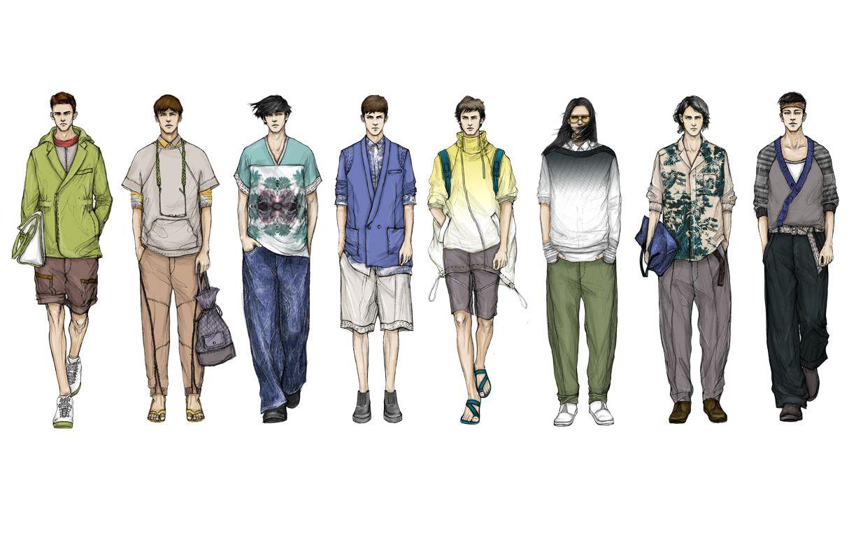 Fashion sketches new fashion sketches - Men S Fashion Illustration Google Search