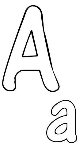 Abc Zum Ausmalen Buchstaben Vorlagen Buchstaben Schablone Alphabet Schablonen