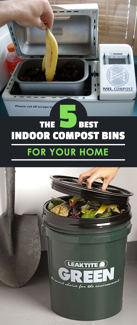 The Best Indoor Compost Bins To Use With Images Indoor