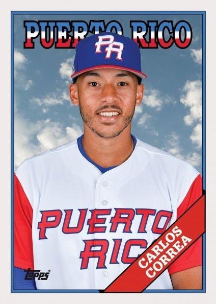 51271d60b Carlos Correa Puerto Rico WBC | World Baseball Classic | Carlos ...