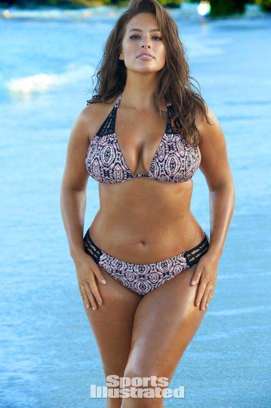 Ashley Graham 25 Sports Illustrated Swimsuit 2016 Sports Illustrated Swimsuit Models Ashley Graham Bikini