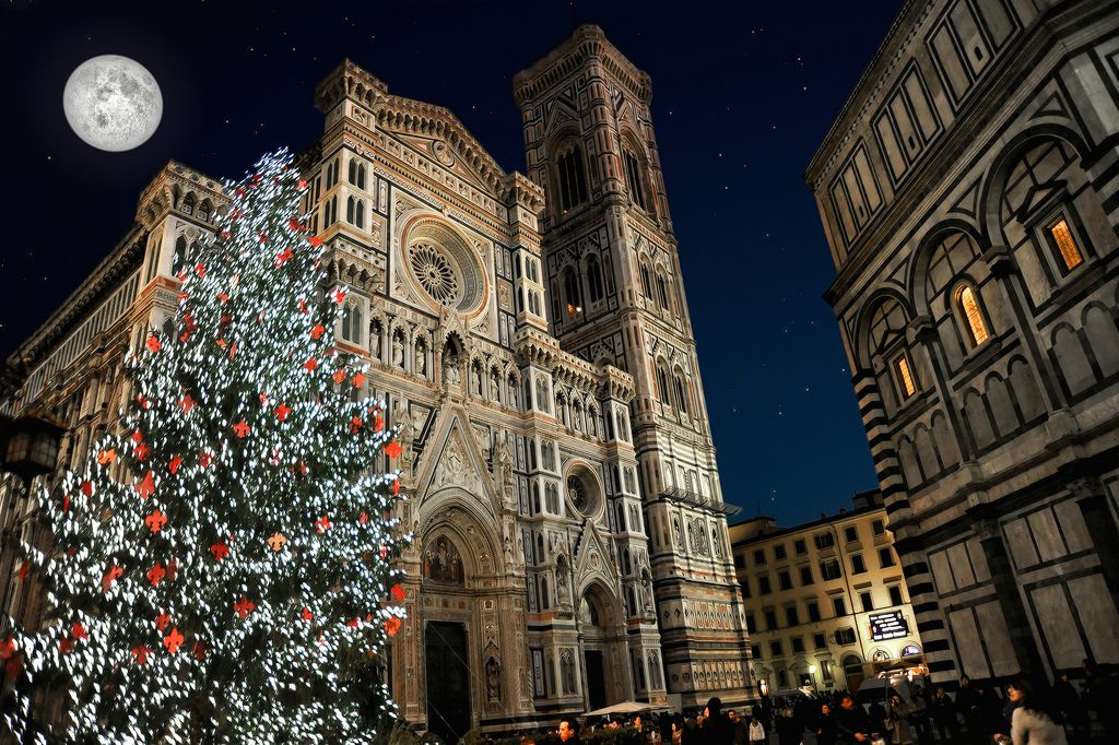 Christmas In Florence Italy.In Big Pictures Christmas Around The World Bucket List