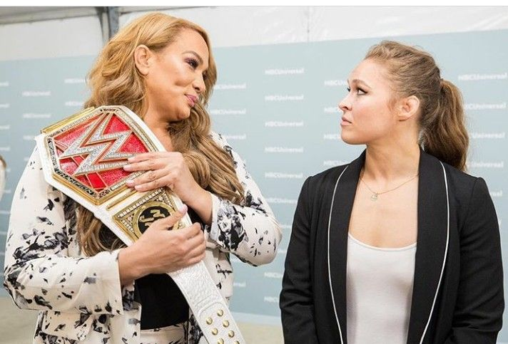 Ronda Rousey to challenge Nia Jax for the Raw Womens