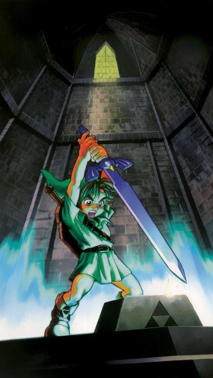 Link In Legend Of Zelda Ocarina Of Time Legend Of Zelda Ocarina Of Time Zelda Art
