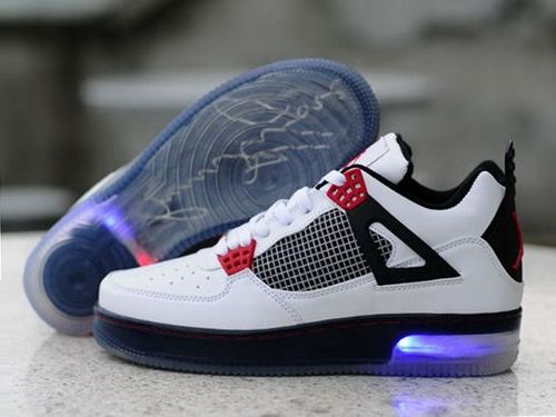 low priced a8d19 c3e85 Air Jordan 4 Iv Retro 2012 New Lightening Mens Shoes White Black Red Review