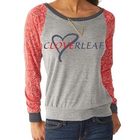 Hooey® Ladies Cloverleaf Greay Slouch With Banadana Sleeves