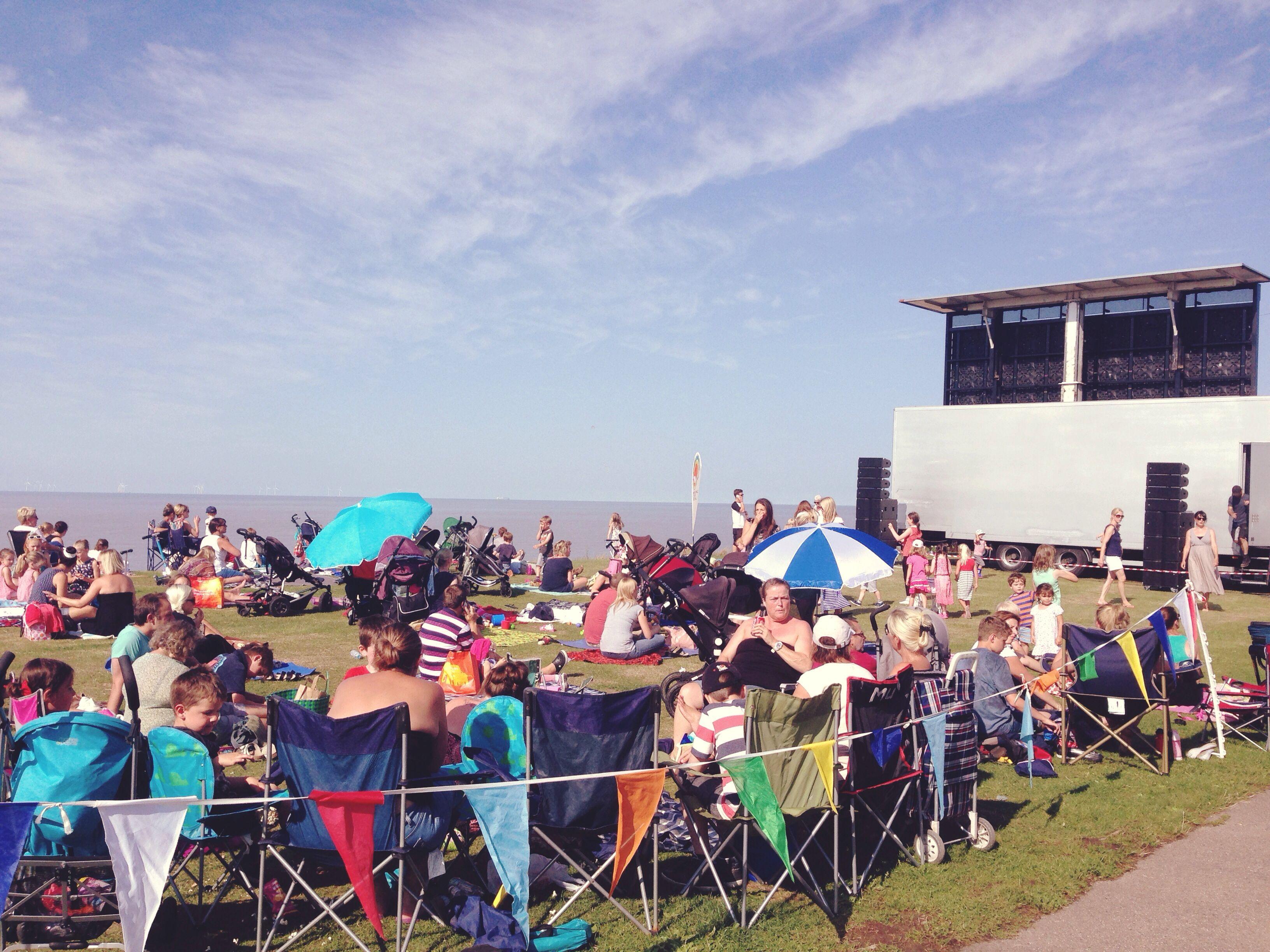 Open air cinema on Tankerton slopes Open air cinema