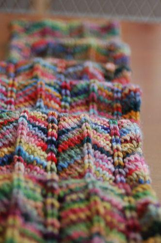 Chevron Scarf | knit | Pinterest | Ganchillo, Chal y Dos agujas