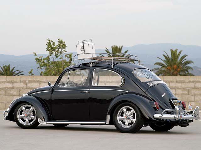1966 Volkswagen Beetle Roof Rack Volkswagen Beetle Volkswagen Vintage Volkswagen