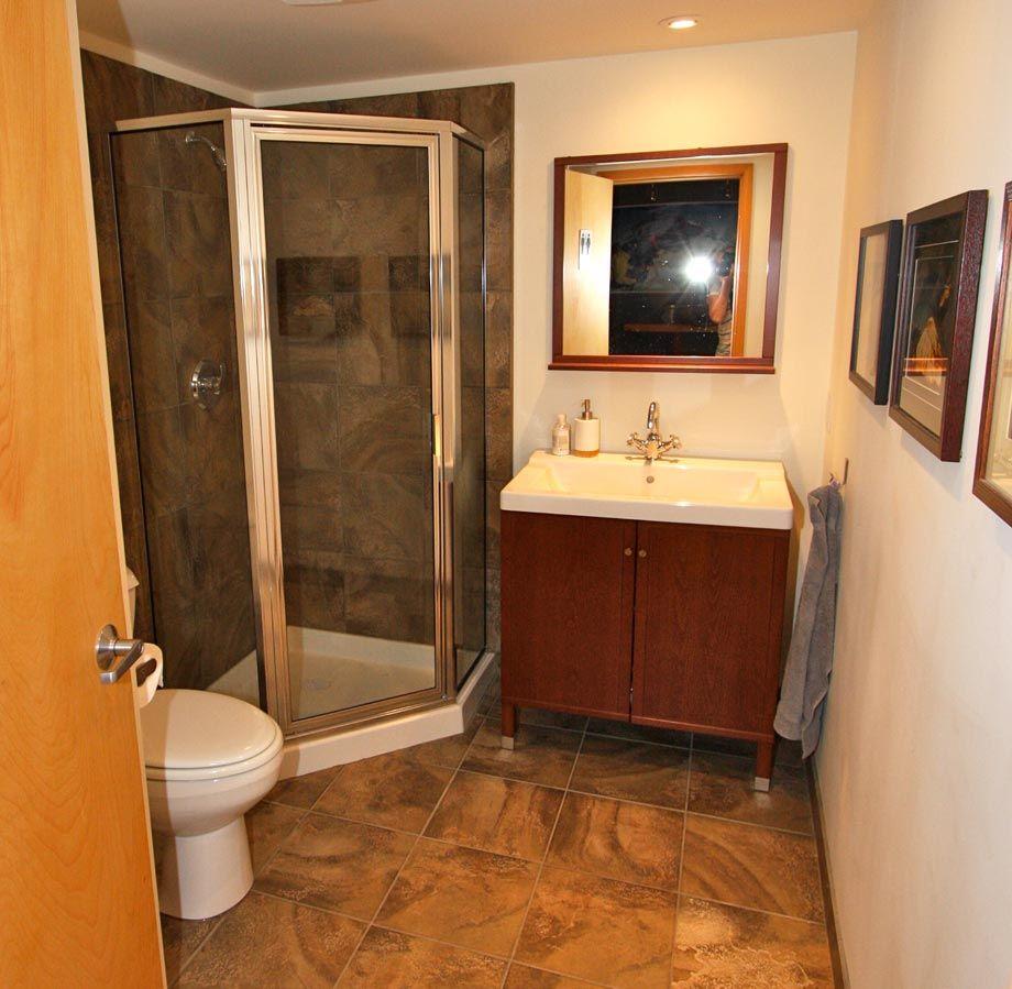 small custom showers   ... walk in shower houzz custom homes home ...