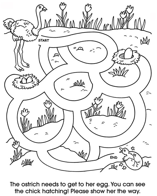 Welcome To Dover Publications Zoo Animal Mazes School